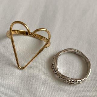 アイ(i)の指輪2つセット(リング(指輪))