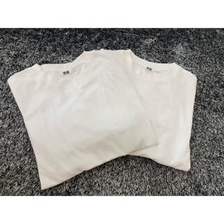 UNIQLO - 新品未使用UNIQLO UネックTシャツ2枚組