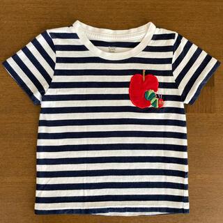 グラニフ(Design Tshirts Store graniph)のグラニフ ボーダー はらぺこあおむし Tシャツ 90サイズ(Tシャツ/カットソー)