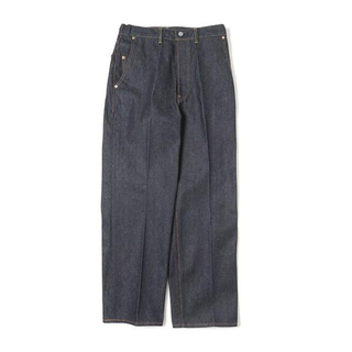 MARKAWEAR - Text Straight Fit Creased Jeans