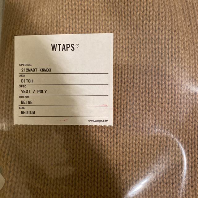 W)taps(ダブルタップス)のWTAPS DITCH / VEST / POLY Mサイズ メンズのトップス(ベスト)の商品写真