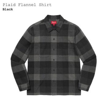 Supreme - supreme Plaid Flannel Shirt Black Sサイズ