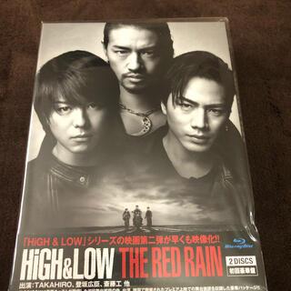 サンダイメジェイソウルブラザーズ(三代目 J Soul Brothers)のHiGH&LOW THE RED RAIN<豪華盤> Blu-ray(日本映画)