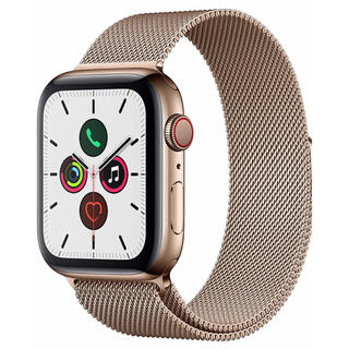 Apple Watch - Apple Watch series5 40mm ステンレス セルラーモデル
