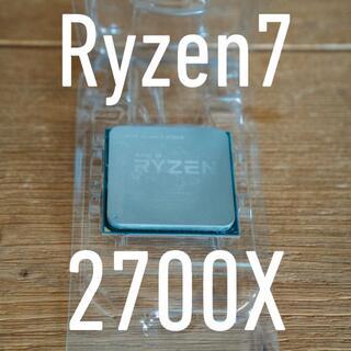 AMD ryzen7 2700x  中古品