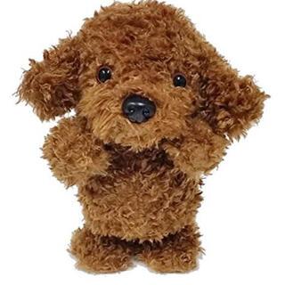 動くぬいぐるみ ウォーキング 可愛い バディーズトイプードル 歩いて喋る dog