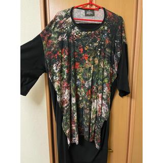 Vivienne Westwood - ヴィヴィアン Vivienne Westwood MAN Tシャツ フラワー