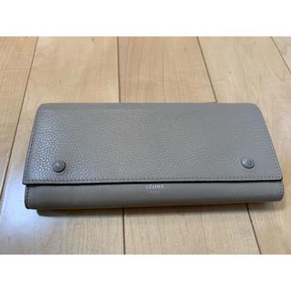 セリーヌ(celine)のDA16 セリーヌ バイカラー 長財布 内側レッド ラージフラップ(財布)