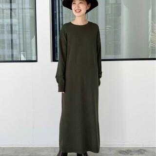 アパルトモンドゥーズィエムクラス(L'Appartement DEUXIEME CLASSE)のアパルトモン Knit Dress(ロングワンピース/マキシワンピース)