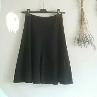 ルネ(René)のRene♡36スカート黒(ひざ丈スカート)