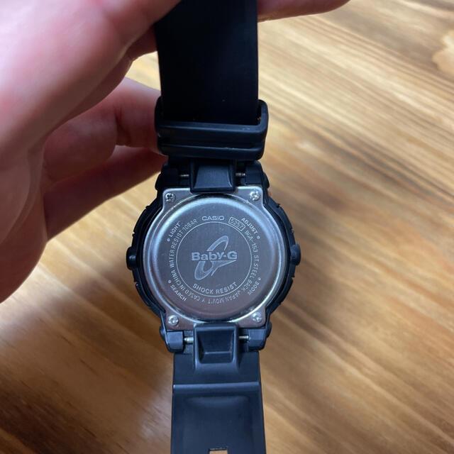 Baby-G(ベビージー)のCASIO Baby-G BGA-153 ブラック メンズの時計(腕時計(デジタル))の商品写真