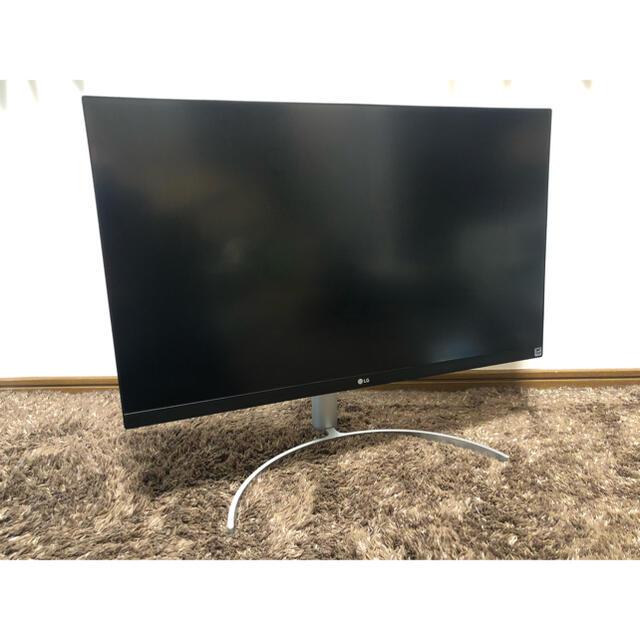 LG Electronics(エルジーエレクトロニクス)のLG モニターディスプレイ 27UK850-W 27インチ4K/HDR/IPS スマホ/家電/カメラのPC/タブレット(ディスプレイ)の商品写真