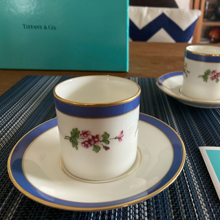 Tiffany & Co. - tiffany ティファニー フローラル デミタスカップ