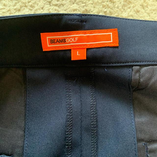 BEAMS(ビームス)の美品ビームスゴルフ キュロットパンツ  L スポーツ/アウトドアのゴルフ(ウエア)の商品写真
