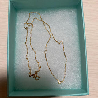 Tiffany & Co. - ティファニー ゴールドネックレス