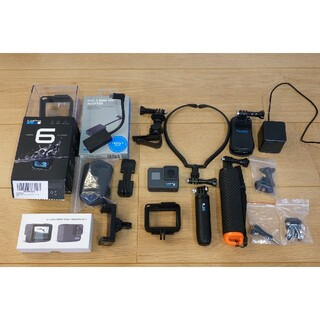 GoPro - GoPro HERO6 BLACKおまけ付(shorty、マイクアダプター等)