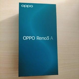OPPO - OPPO Reno3 A   SIMロック解除 ブラック