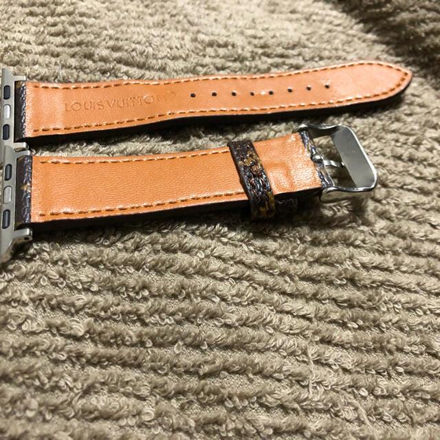 Apple Watch(アップルウォッチ)のApple Watchレザーベルト 42mm/44mmケース  メンズの時計(レザーベルト)の商品写真
