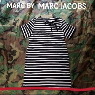 MARC BY MARC JACOBS - MARC BY MARC JACOBS リボン ボーダー ワンピース