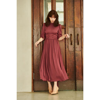 snidel - her lip to Victoria Park Long Dress