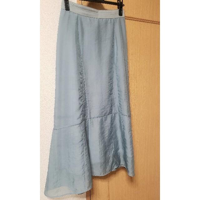 snidel(スナイデル)のSNIDEL オーガンジーデザインスカート レディースのスカート(ロングスカート)の商品写真