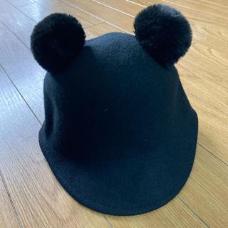 ZARA KIDS - くま耳帽子 ZARAクマ耳帽子 キッズ帽子