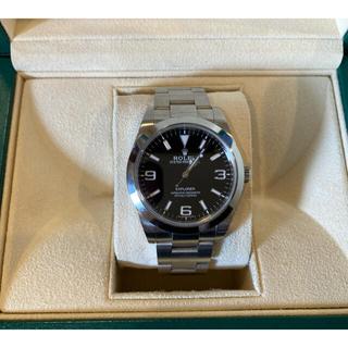 ロレックス(ROLEX)のロレックス エクスプローラー1 214270(腕時計(アナログ))