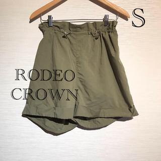 ロデオクラウンズ(RODEO CROWNS)の新品 定価4990円 ロデオクラウン ショートパンツ カーキ S(ショートパンツ)