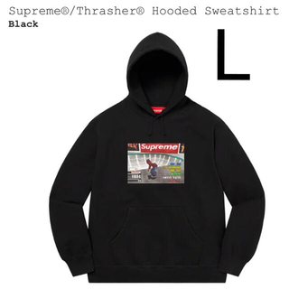 Supreme - Supreme®/Thrasher® Hooded Sweatshirt