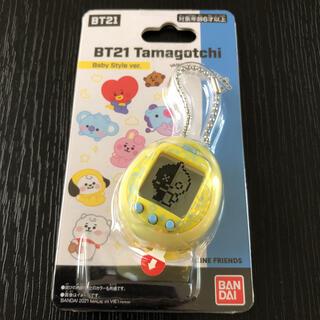 防弾少年団(BTS) - 公式 BT21 たまごっち 黄色 Tamagotchi バンダイ BTS タタ