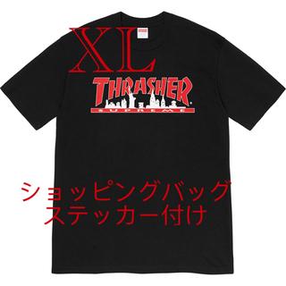 """Supreme - Supreme / Thrasher® Skyline""""Black"""" XL"""