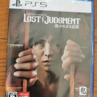PlayStation - 新品◆PS5 LOST JUDGMENT 裁かれざる記憶 ロストジャッジメント