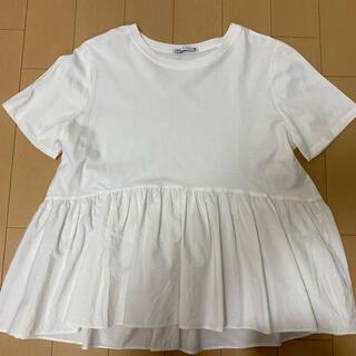 ZARA - ZARA デザインTシャツ
