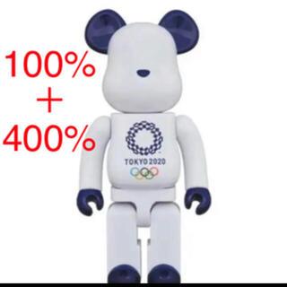 メディコムトイ(MEDICOM TOY)のベアブリック オリンピック 400%と100%セット(その他)