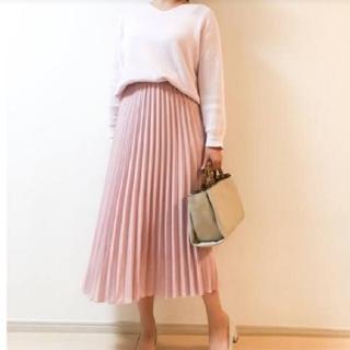 UNIQLO - UNIQLO プリーツスカート ピンク レディース ユニクロ ファッション