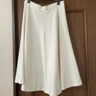 ドゥーズィエムクラス(DEUXIEME CLASSE)のドゥーズィエムクラス MUSE ホワイトスカート(ひざ丈スカート)