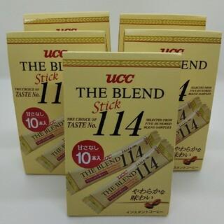UCC - UCC ブレンド114スティック10入 5個