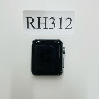 アップルウォッチ(Apple Watch)の中古美品 Apple Watch Series2-42ミリ RH312(腕時計(デジタル))