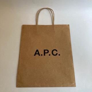 A.P.C - A.P.C. ショッパー ショップ袋 紙袋