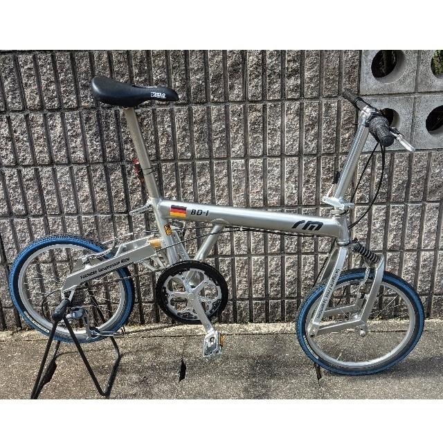 (パンダさん専用)折畳み自転車  BD-1 スポーツ/アウトドアの自転車(自転車本体)の商品写真
