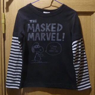 スヌーピー(SNOOPY)のピーナッツ スヌーピーのTシャツ(長袖) サイズ120 <a982>(Tシャツ/カットソー)
