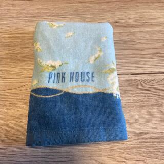 ピンクハウス(PINK HOUSE)のピンクハウスフェイスタオルスズランブルー(タオル/バス用品)