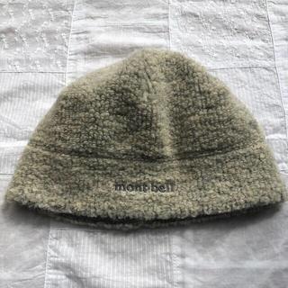 モンベル(mont bell)のモンベル フリース帽子 M/L(登山用品)