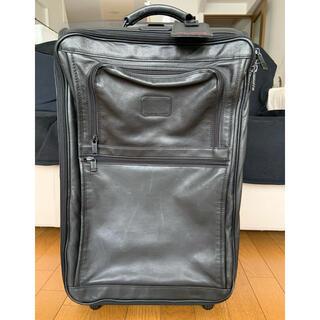 トゥミ(TUMI)の希少 TUMI オールレザー スーツケース※訳あり品です(トラベルバッグ/スーツケース)