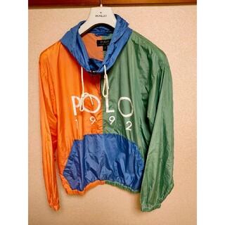 ポロラルフローレン(POLO RALPH LAUREN)のポロラルフローレン 1992ナイロンジャケット アノラック polo sport(ナイロンジャケット)
