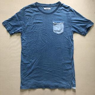 Discoat - Discoat ダメージ加工Tシャツ Lサイズ