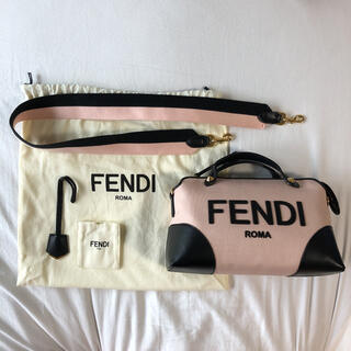 FENDI - フェンディ バイザウェイ キャンバス 8BL146 ADYN ショルダーバッグ
