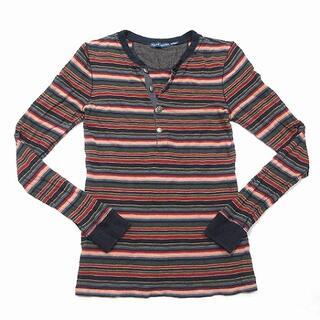 ラルフローレン(Ralph Lauren)のラルフローレン RALPH LAUREN Tシャツ 長袖 ボーダー コンチョ(Tシャツ/カットソー(七分/長袖))