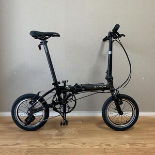ダホン(DAHON)のDAHON K3 14インチ ガンメタルxブラック ビッグアップル(自転車本体)