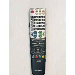 シャープ 液晶テレビ AQUOS 純正リモコン GA934WJSA 動作確認済み